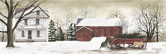 Billy Jacobs BJ116A - Christmas Tree for Sale - Christmas Trees, Wagon, Farm, Snow, Winter from Penny Lane Publishing