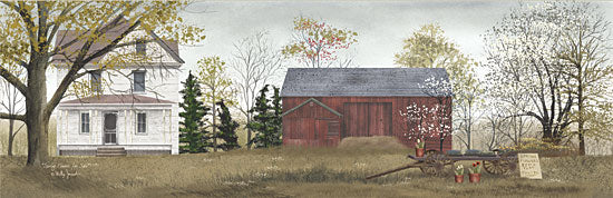 Billy Jacobs BJ120A - Spring Flowers for Sales - House, Barn, Trees, Spring, Flowers, Wagon from Penny Lane Publishing