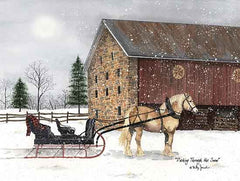 BJ1256 - Dashing Through the Snow - 16x12