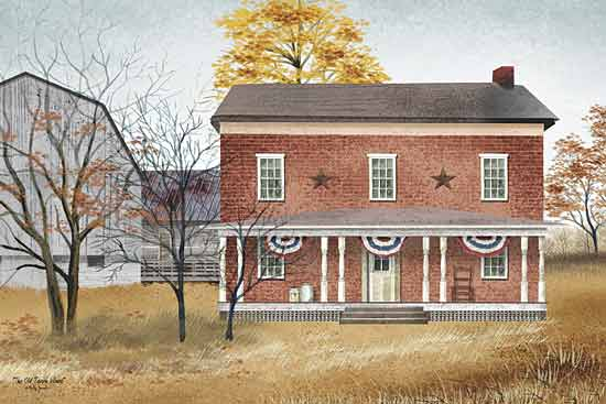Billy Jacobs BJ125 - The Old Tavern House  - America, House, Trees, Landscape from Penny Lane Publishing