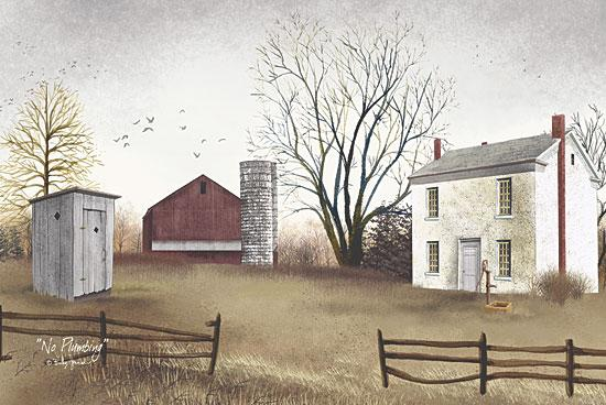 Billy Jacobs BJ131 - No Plumbing - Outhouse, House, Barn, Farm, Landscape from Penny Lane Publishing