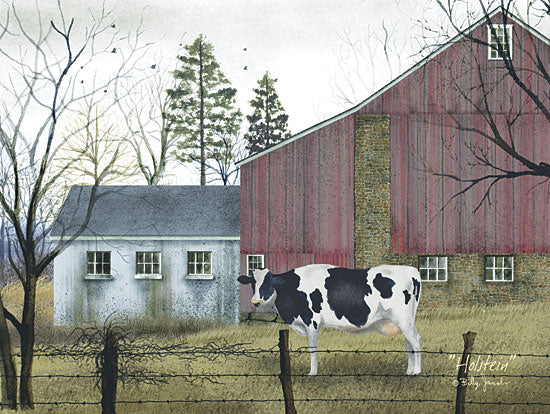 Billy Jacobs BJ141 - Holstein - Cow, Barn, Farm, Countryside from Penny Lane Publishing