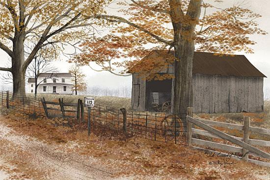 Billy Jacobs BJ161C - Old Country Road - Barn, House, Road, Farm from Penny Lane Publishing