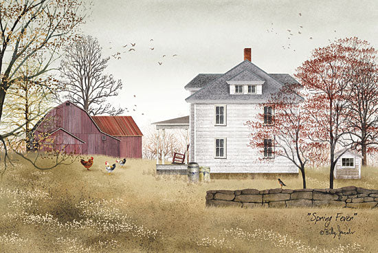 Billy Jacobs BJ167 - Spring Fever - Spring, Farm, House, Barn from Penny Lane Publishing