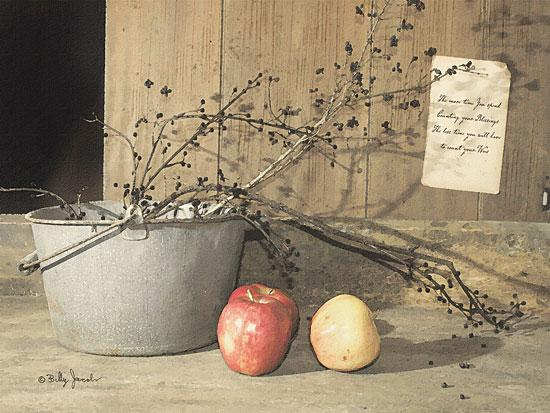 Billy Jacobs BJ174 - Count Your Blessings - Bucket, Apples, Berries from Penny Lane Publishing