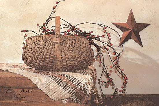 Billy Jacobs BJ177 - Berry Basket - Berry, Basket, Barn Star, Antiques from Penny Lane Publishing