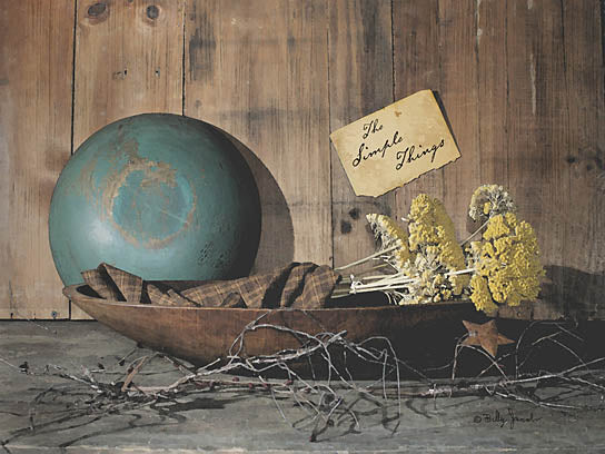 Billy Jacobs BJ182A - BJ182A - The Simple Things   - 16x12 Simple Things, Bowls, Primitive, Stars, Yellow Flowers, Photography, Still Life from Penny Lane