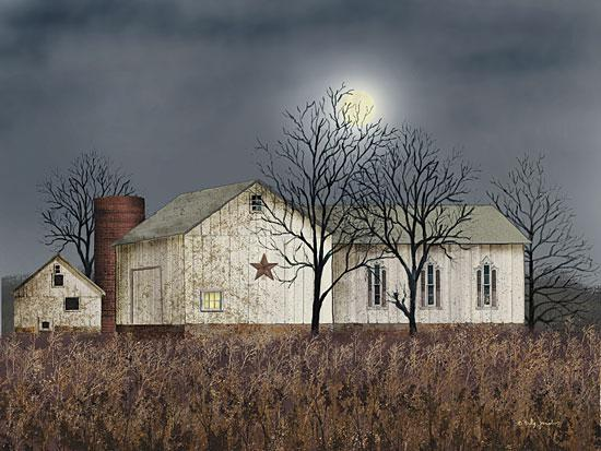 Billy Jacobs BJ223 - Evening Chores - Night, Evening, Moon, Barn Star from Penny Lane Publishing