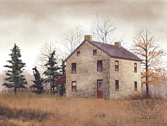 Billy Jacobs BJ227 - Old Stone House - Stone House, Autumn from Penny Lane Publishing