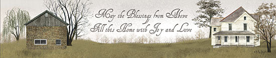 Billy Jacobs BJ317 - May the Blessings - House, Inspiring, Typography from Penny Lane Publishing