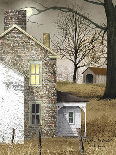 Billy Jacobs BJ404 - A Light in the Window - Light, House, Window, Farm from Penny Lane Publishing