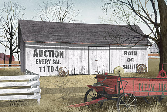 Billy Jacobs BJ459 - Auction Barn - Auction, Barn, Wagon, Antiques from Penny Lane Publishing