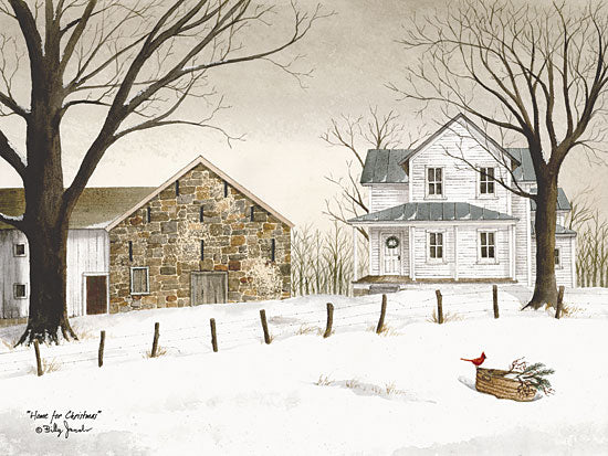 Billy Jacobs BJ462 - Home for Christmas - Holiday, Snow, House from Penny Lane Publishing