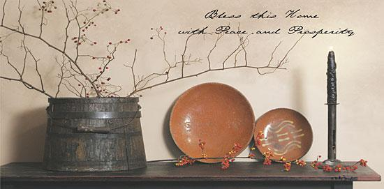 Billy Jacobs BJ813A - Bless This Home - Bucket, Berries, Plates, Candle, Home from Penny Lane Publishing