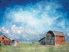 BLUE160 - Montana Ranch Skies   - 16x12