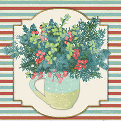 BLUE477 - Evergreen Centerpiece I  - 12x12