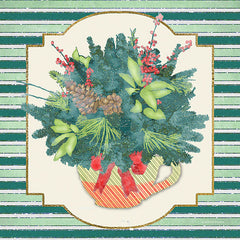 BLUE478 - Evergreen Centerpiece II   - 12x12