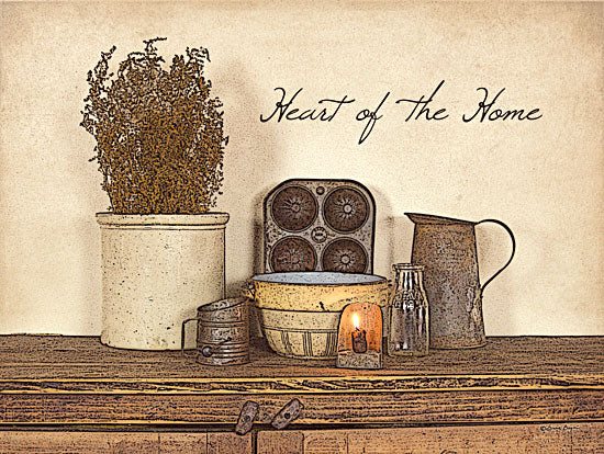 Susie Boyer BOY106 - Heart of the Home - Candle, Pitcher, Bowl, Sifter, Mold, Home, Antiques from Penny Lane Publishing