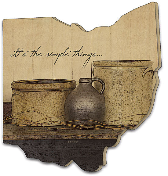 Susie Boyer BOY121OH - It's the Simple Things - Still Life, Simple Things, Shelf, Country, Kitchen, Primitive from Penny Lane Publishing
