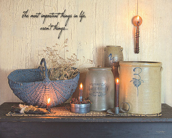 Susie Boyer BOY279 - The Most Important Things  - Candles, Crocks, Basket, Inspirational from Penny Lane Publishing