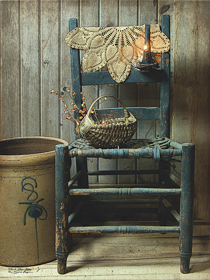 Susie Boyer BOY375 - This Old Chair - Chair, Lace, Crock, Bee, Basket from Penny Lane Publishing