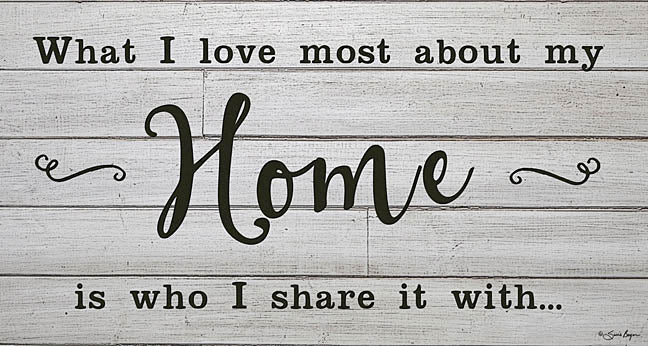 Susie Boyer BOY388 - My Home - Home, Family, Inspiring, Signs, Wood Planks from Penny Lane Publishing