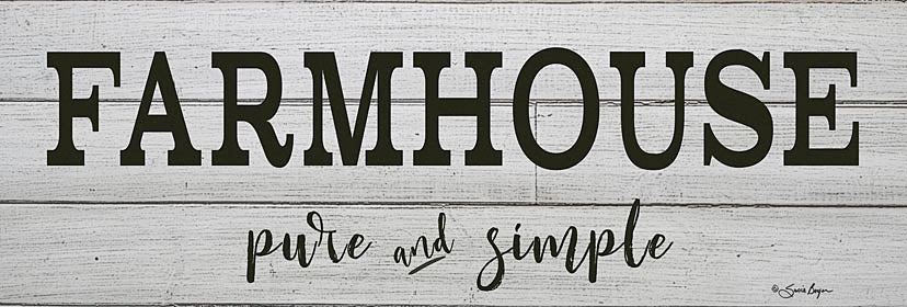 Susie Boyer BOY391 - Farmhouse - Pure and Simple - Farmhouse, Signs from Penny Lane Publishing