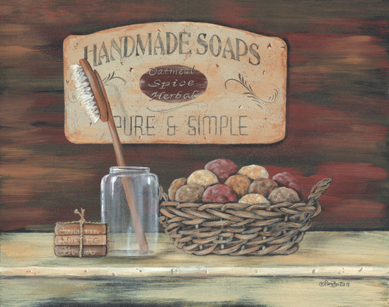 Pam Britton BR210 - Handmade Soaps - Toothbrush, Soap, Basket, Jar from Penny Lane Publishing