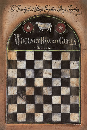 Pam Britton BR321 - Woolsey Board Games - Game Board, Antiques, Signs, Family from Penny Lane Publishing