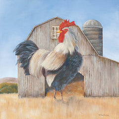 BR442 - Country Rooster - 12x12