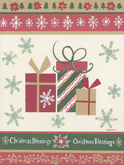Pam Britton BR489 - BR489 - Holiday Joy III - 12x16 Signs, Typography, Presents, Christmas Tree, Flowers, Snowflakes from Penny Lane