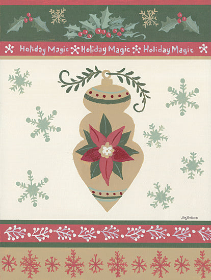Pam Britton BR490 - BR490 - Holiday Joy IV - 12x16 Signs, Typography, Ornament, Poinsettia, Christmas Ivy, Snowflakes from Penny Lane