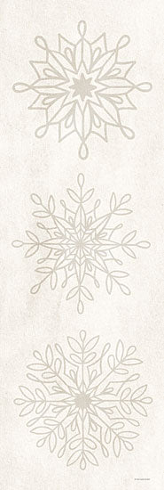 Kyra Brown BRO112 - BRO112 - Neutral Snowflakes II - 6x18 Snowflakes, Winter from Penny Lane