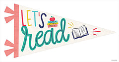 BRO126 - Let's Read Pennant - 18x9