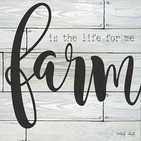 Cindy Jacobs CIN100 - Farm is the Life for Me - Farm, Typography, Signs from Penny Lane Publishing