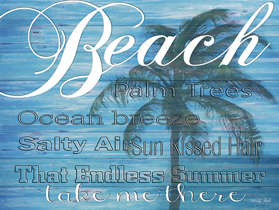 Cindy Jacobs CIN124 - Beach - Take Me There - Beach, Palm Tree, Coastal, Signs from Penny Lane Publishing