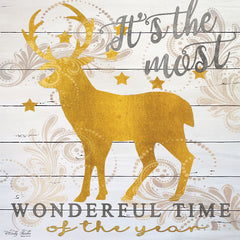 CIN1261 - It's the Most Wonderful Time Deer - 12x12