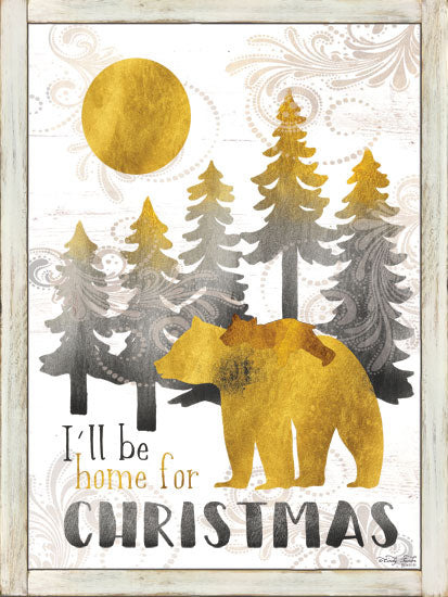 Cindy Jacobs CIN1264 - CIN1264 - Merry Christmas and Happy New Year - 12x16 Signs, Typography, Christmas, Bear, Bear Cub, Trees from Penny Lane