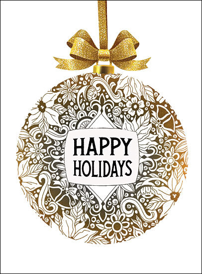 CIN1280 - Happy Holidays Ornament