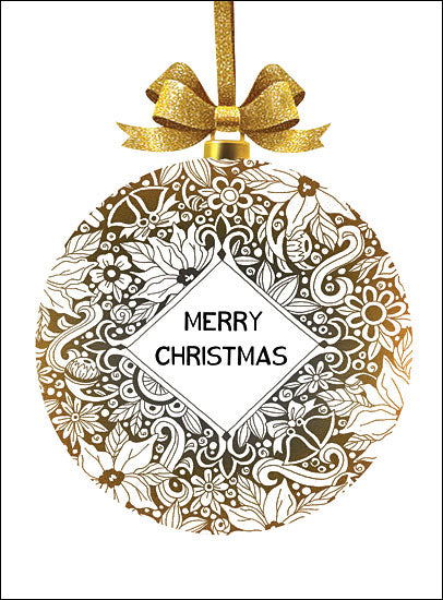 CIN1281 - Merry Christmas Ornament