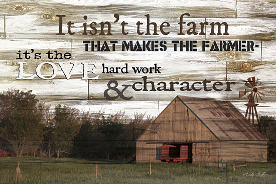 Cindy Jacobs CIN130 - It Isn't the Farm - Farm, Barn, Inspirational, Windmill from Penny Lane Publishing