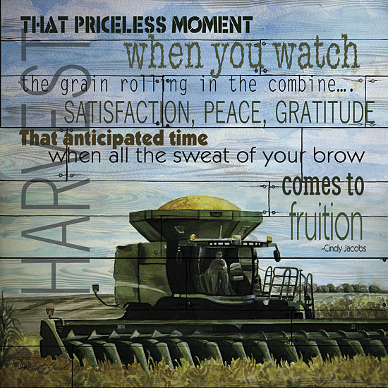 Cindy Jacobs CIN132 - That Priceless Moment - Farm, Tractor, Inspirational, Harvest from Penny Lane Publishing
