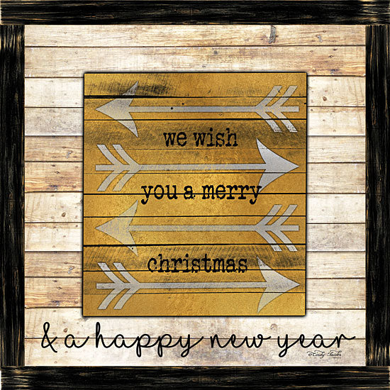 Cindy Jacobs CIN1337 - CIN1337 - Buffalo Merry Christmas    - 12x12 Signs, Typography, New Year, Christmas, Arrows, Wood Planks from Penny Lane
