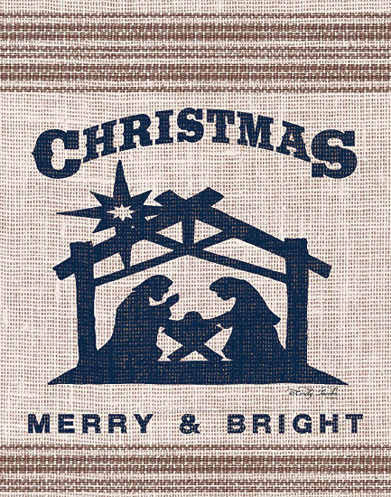 Cindy Jacobs CIN1522 - Christmas Merry & Bright - 12x16 Holidays, Nativity, Grain Sack, Linen Tea Towels from Penny Lane