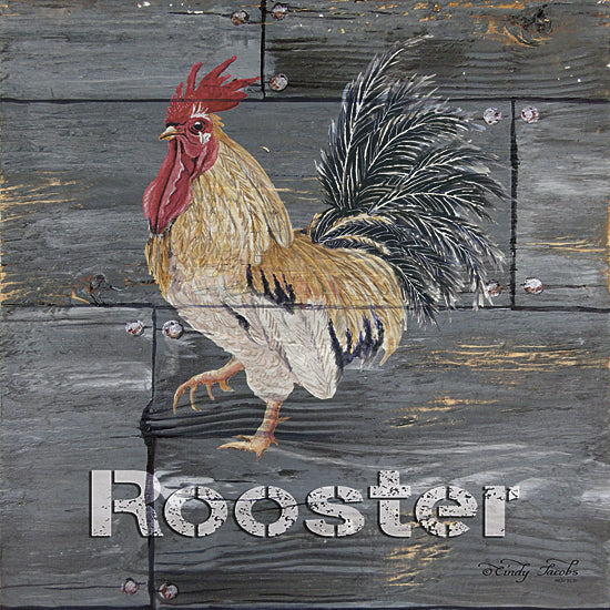 Cindy Jacobs CIN156 - Rooster - Rooster, Animals, Sign </a></p> from Penny Lane Publishing