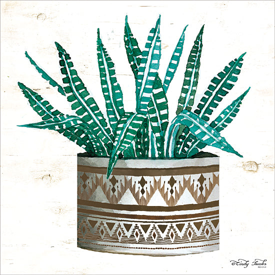 Cindy Jacobs CIN1663 - CIN1663 - Mud Cloth Vase V      - 12x12 Potted Plant, Vase from Penny Lane