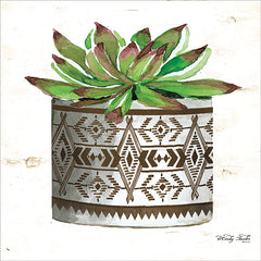 CIN1664 - Mud Cloth Vase VI    - 12x12