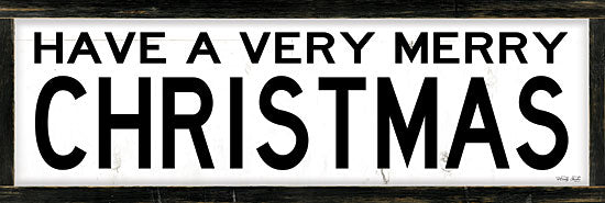 Cindy Jacobs CIN1755A - CIN1755A - Have a Very Merry Christmas    - 36x12 Have a Very Merry Christmas, Christmas, Holidays, Signs, Black & White from Penny Lane