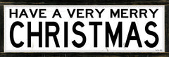 CIN1755A - Have a Very Merry Christmas    - 36x12