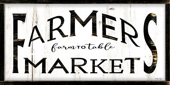 Cindy Jacobs CIN1790 - CIN1790 - Farmer's Market I - 18x9 Signs, Typography, Farmer's Market, Farm to Table from Penny Lane